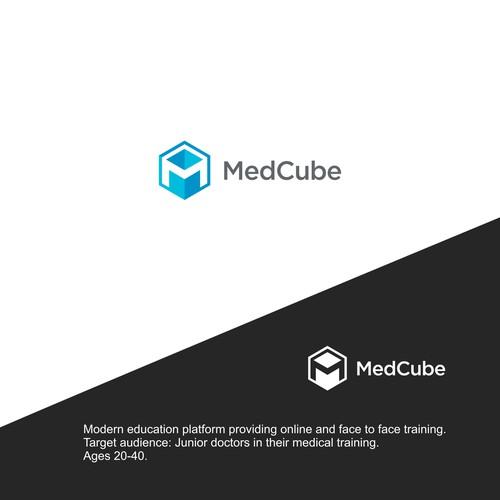 MedCube - an educational platform for doctors needs a logo!