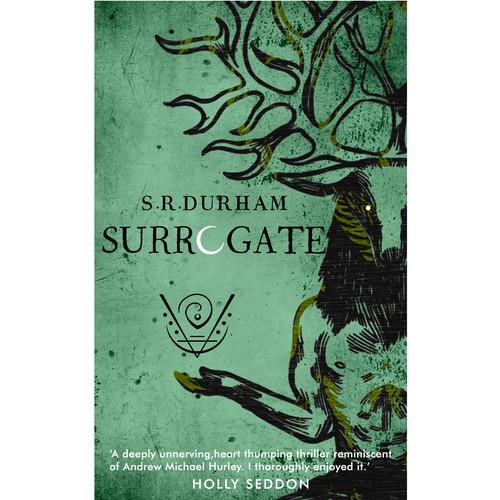 Book cover for folk horror novel