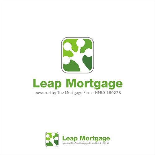 Bold logo for Leap Mortgage