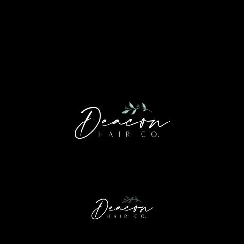 Logo Design for Deacon Hair Co.