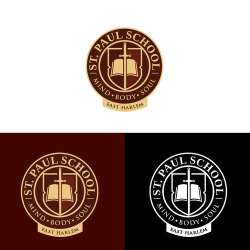 Logo design for a school - St. Paul School