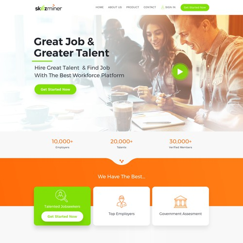 Web Design For Skillzminer