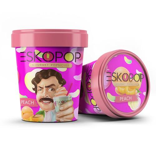 Ice-cream Tube Packaging