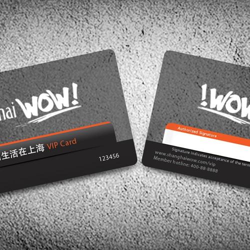 Plastic VIP Card Design