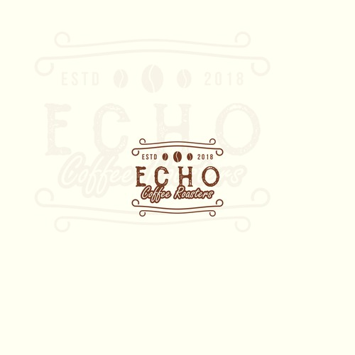 Echo Coffee Roasters Logo Design