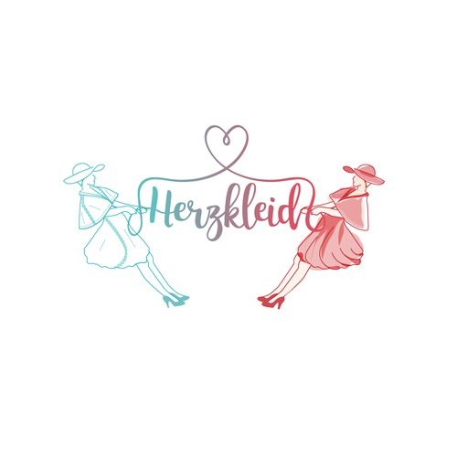 Logo for vintage inspired women's clothing