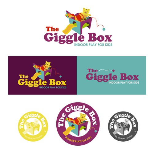 logo for The Giggle Box