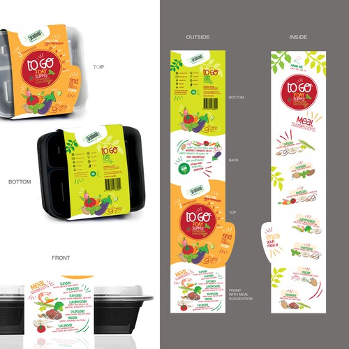 Packaging - Sleeve for Food Container