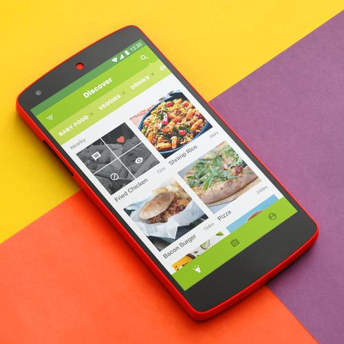 Colorful Food App