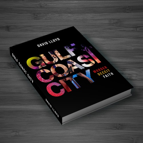 Book cover design for Gulf Coast City