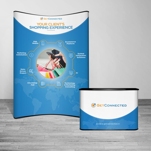 Tradeshow graphics for booth in fashion & lifestyle event