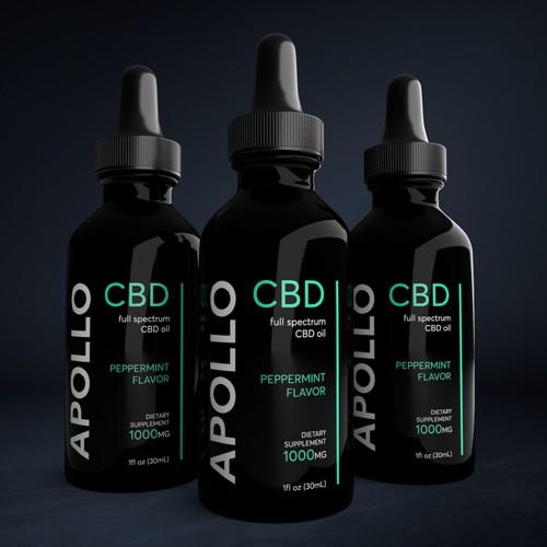 CBD Brand- Minimalistic Design. Simple. Easy.