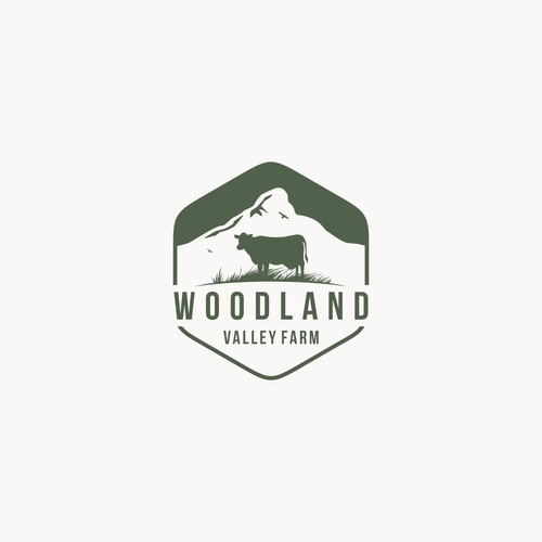 Vintage logo for Woodland