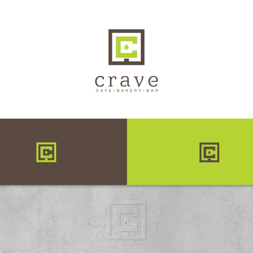 "winner logo for ""crave"" a hip new cafe/restaurant"