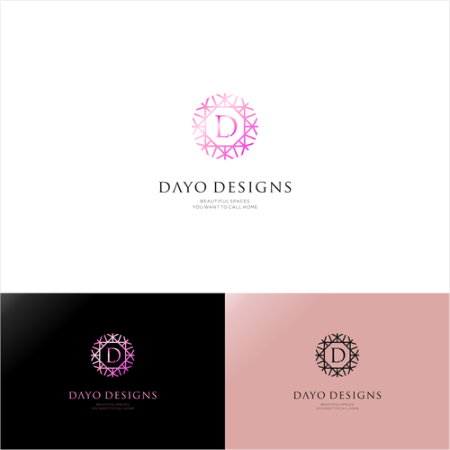 Design a logo for Dayo Designs - Beautiful spaces you want to call home