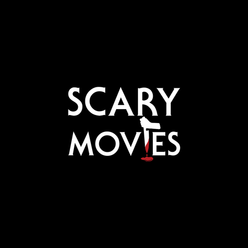 Scary logo for scary movies.