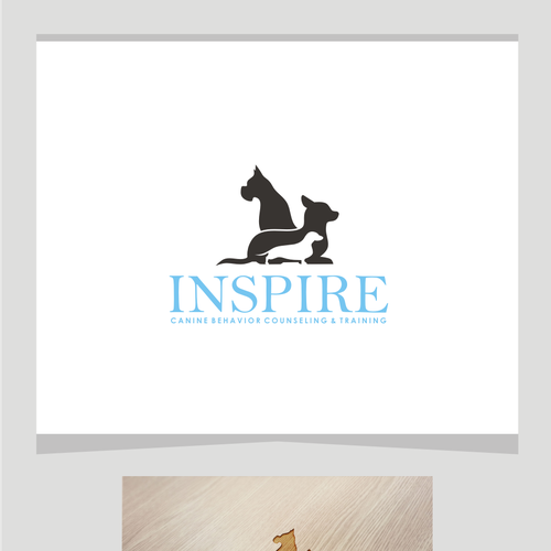 nspire... Logo needed for progressive canine behavior counselor & trainer