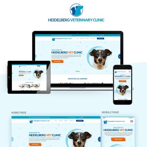 Vet clinic - new website!!