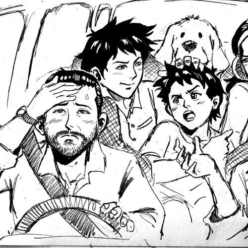 Manga Syle Sketch