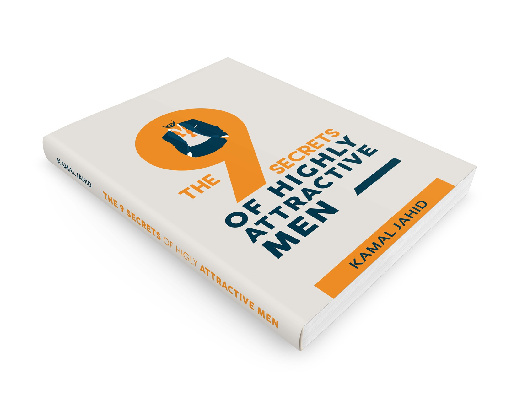 """E-Book Cover for """"The 9 Habits of Highly Attractive, Successful Men"""""""