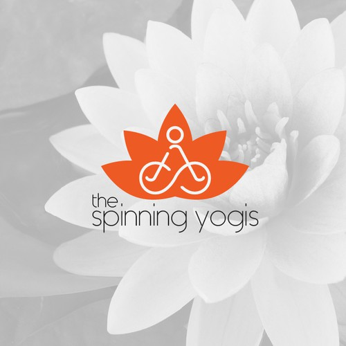 yoga and cycle fitness logo