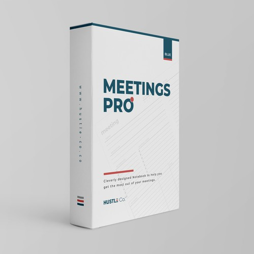 Disruptive Packaging Wanted for New Meeting Notebook
