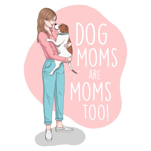 Mother's Day card illustration