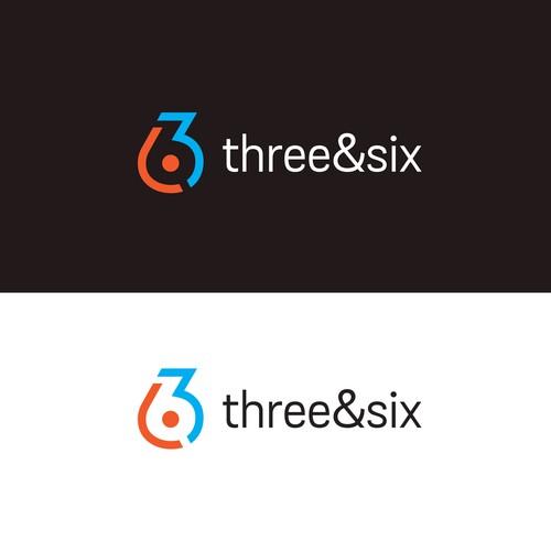 three and six