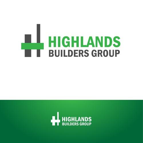 Highlands Builders Group logo creation