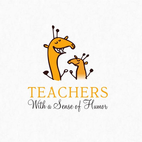 Create a catchy design that captures the fun and humor of teaching!