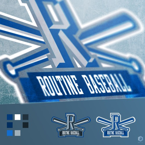 Routine Baseball Logo
