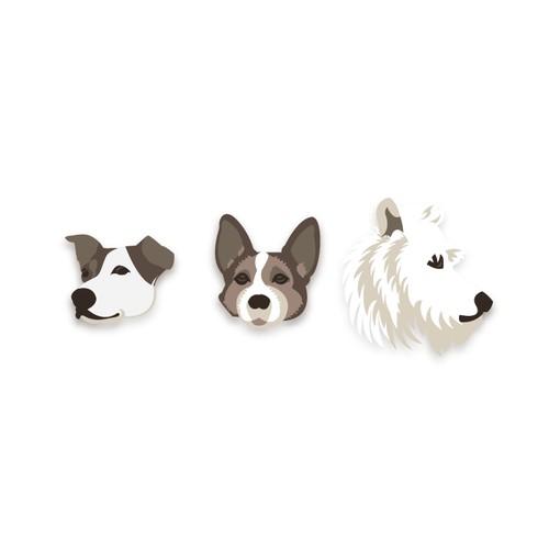 portrait dogs
