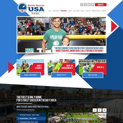 Street Soccer USA Park