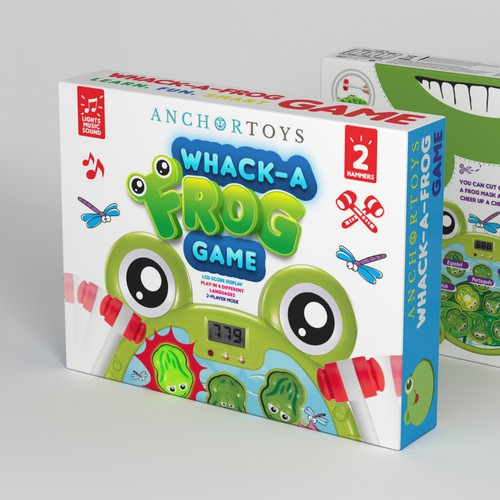 BOLD FUN FROG Game packaging
