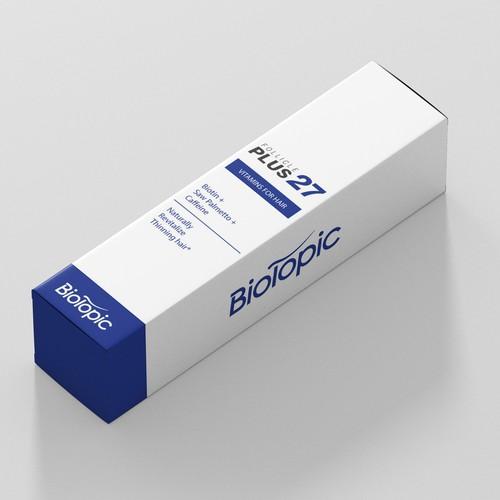 Medical minimalistic box design