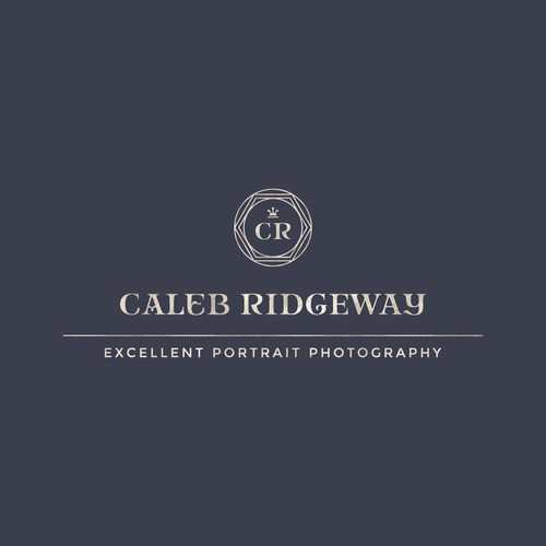 Monogram logo for photographer
