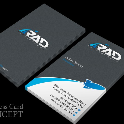 Design A Software Company Business Card You Can't Stop Looking At!!