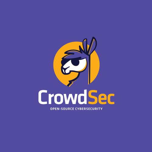Powerful logo for a new opensource cybersecurity startup
