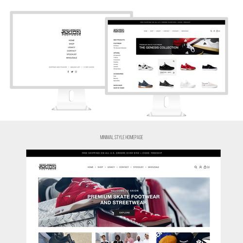 Web page design contest winner
