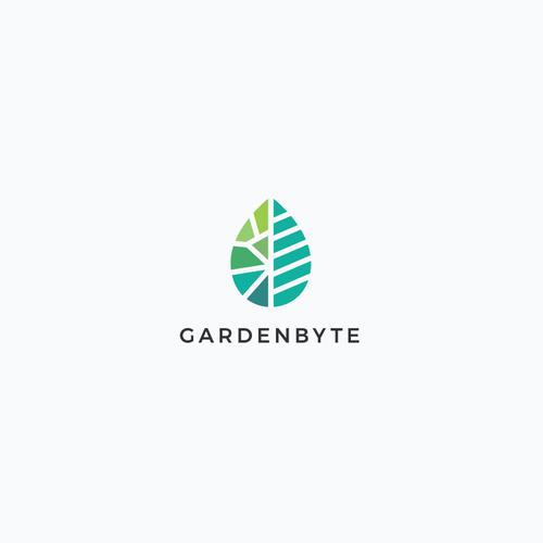 Gardenbyte Logo Design