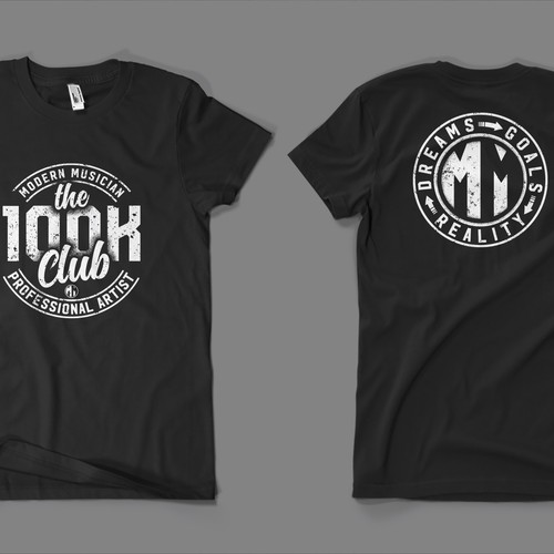 T-shirt design for Modern Musician