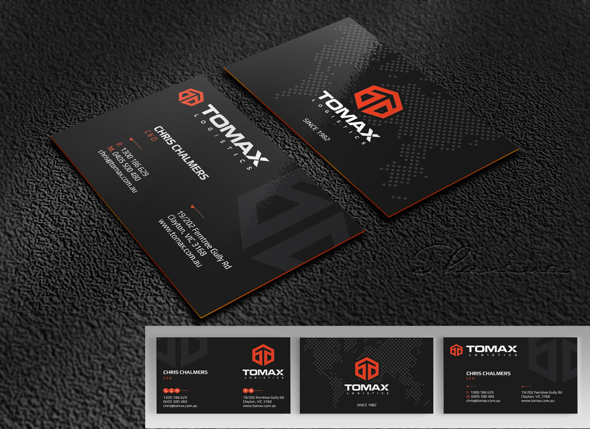 Tomax Business Cards