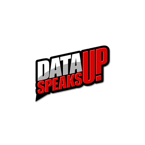 Bold logo design for Data Speaks Up@