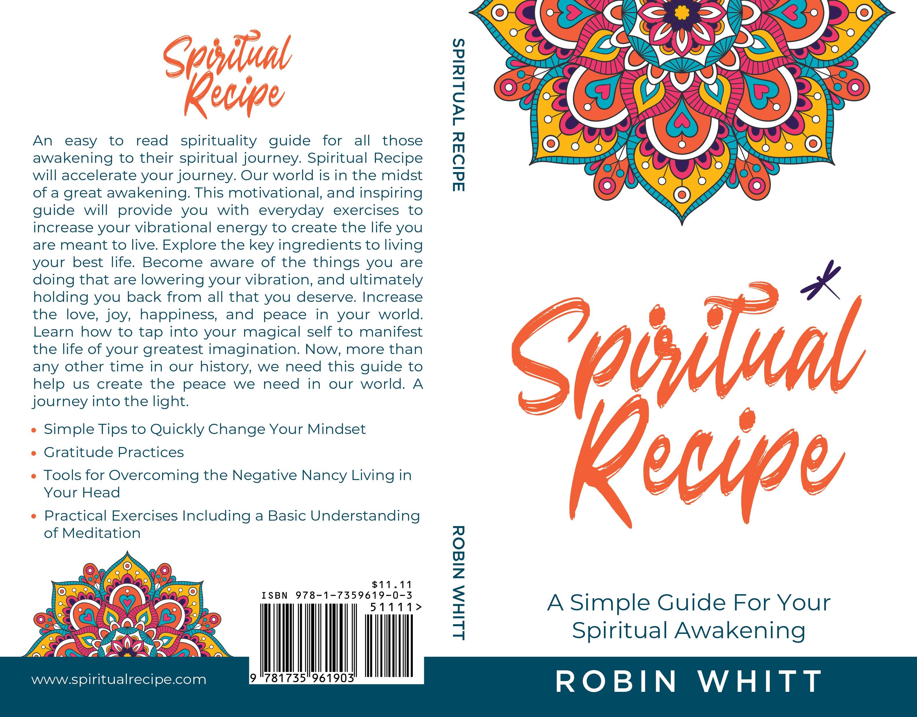Design an intriguing cover spiritual awakening cover.