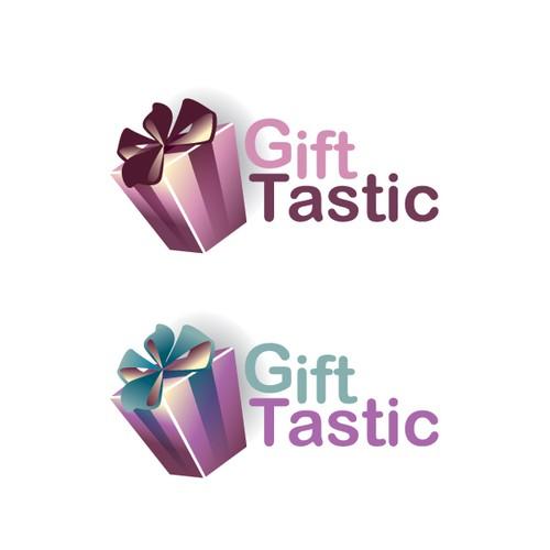 GiftTastic logo design