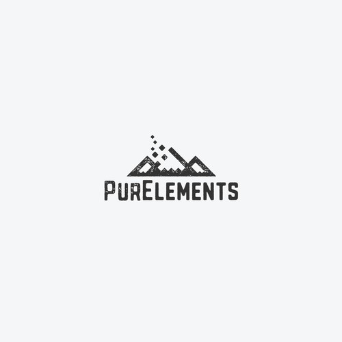 Logo concept for an outdoor gear company