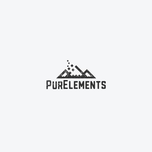 Logo concept for an outdoor gear company
