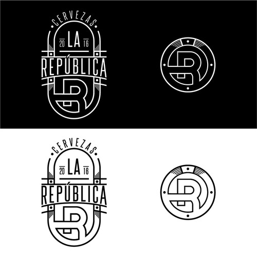 logo concept for spain beer company