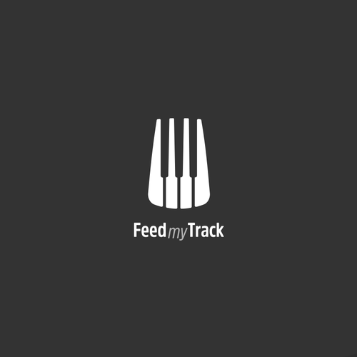 logo for a website where musicians trade feedback on songs