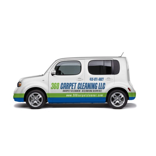Car Wrap Design for 360 Carpet Cleaning LLC